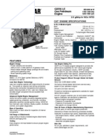 CAT® ENGINE SPECIFICATIONS