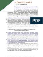 Bearer Paper UCC Article 3