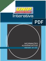 Informações Acadêmicas Graduação_Ingressantes em 2011 e 2012