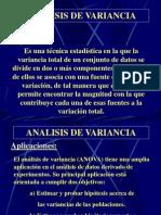 Analisis de Variancia