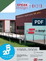 DO YOU SPEAK good design #31 - L'École de design Nantes Atlantique a 20 Ans
