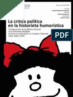 """TESINA DE GRADO de Gasparutti, Luisina Nazarena. """"La crítica política en la historieta humorística..."""""""