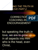 Speaking the Truth in Love Part 2 Odcf Sunday Nov 25 2012