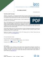 IPCC Doha Advisory