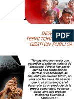Desarrollo Territorial Pcm