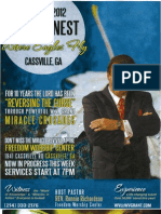 Eagles Nest Revival Report - W. V. Grant, Jr - (December 2012)