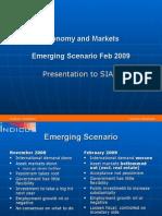 Economy and Markets - Emerging Scenario February 2009