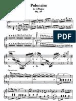 Polonaise in C, Op 89