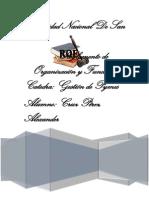 REGLAMENTO DE ORGANIZACIÓN Y FUNCIONE1