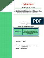 M12-Détermination sollicitations simple-BTP-TDB