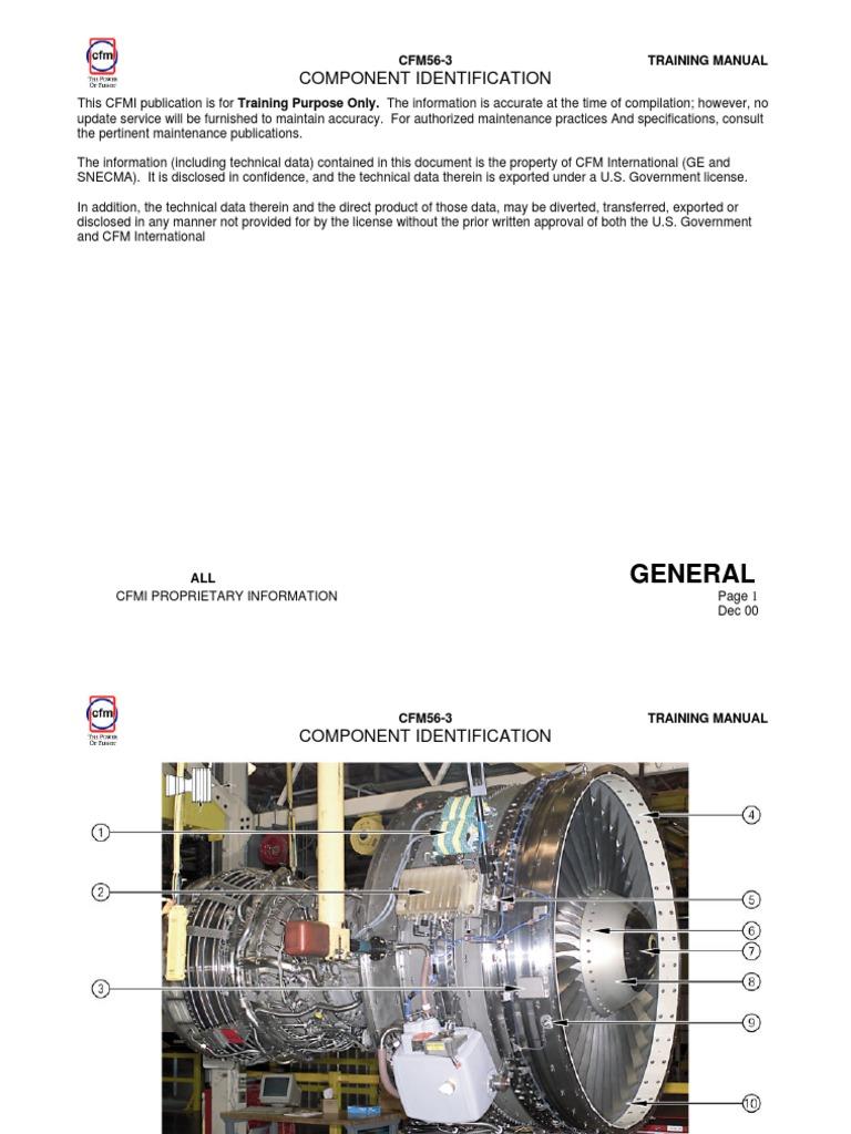 cfm56 3 technical training manual component identification pump rh es scribd com cfm56-5c training manual cfm56-3 training manual