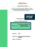 M13-Etude coffrage ferraillage éléments porteur-BTP-TDB
