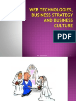 2 -Web Technologies, Business Strategy and Culture