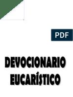 DEVOCIONARIO EUCARÍSTICO
