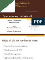 Clase II MEtodos de Operacion Unitario