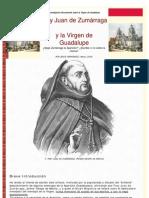 Fray Juan de Zumárraga y la Virgen de Guadalupe