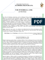 Fray Juan de Zumárraga. Enciclopedia Franciscana
