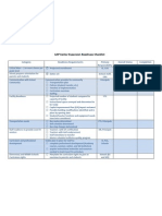 School Readiness Checklist