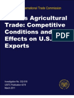 China's Agricultural Trade - Competitive Conditions and Effects on U.S. Exports