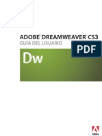 Manual Adobe DreamWeaver CS3