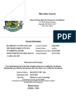 KATHLEEN TOIVANEN, M.D.'S MAINE PHYSICIAN PROFILE FOR 2012