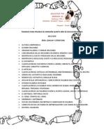 Guía de admision 5to año básico Las Marianitas
