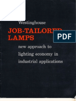 Westinghouse Job Tailored Lamps Brochure 1957