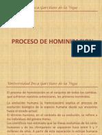 Proceso de Hominizacion (2do Grupo)