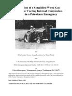 Construction of a Simplified Wood Gas Generator_emergency_gassifer
