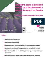 Encuesta FFRF - Biodiversidad y Patrimonio Natural