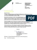 Coast Guard response to FOIA requeste 09-0666 for FV PATRIOT case