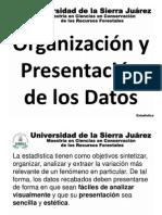 Organización y presentación de los datos, estadistica descriptiva