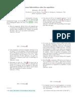 Guía de ejercicios de hidrostatica