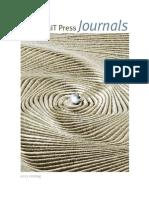 2013 MIT Press Journals Catalog