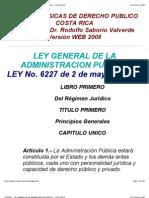 Ley General de La Administracion Publica - Costa Rica