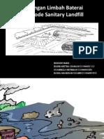 Penanggulangan Limbah Baterai Dengan Metode Sanitary Landfill