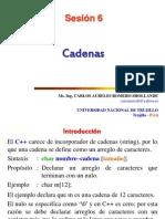 Sesión 6 Cadenas
