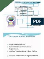 Analisis Transistorio -  Bobinas y Capcitores