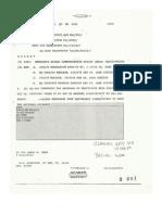 HQSAC Msg DTG 301500Apr91 - Re ERCS Deactivation