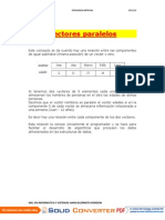VECTORES PARALELOSS