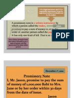 Cheque and Prescription