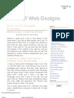 How to Fix Google Chrome