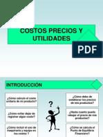 Costos - Precios - Utilidades