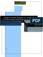 27600792 Impact of Loyalty Programs on Consumer Behaviour