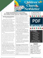 Newsletter 12-09-12