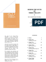 Behind the Myth of 3 Million - By Dr. M. Abdul Mu'min Chowdhury