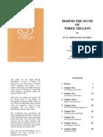 Behind the Myth of 3 Million - By Dr. M. Abdul Mu'min Chowdhury