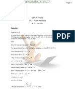 Physics XI Ch-12 [Thermodynamics ]