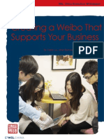 Creating a Weibo That Supports Your Business