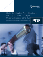 Understanding the Public Relations Industry in India
